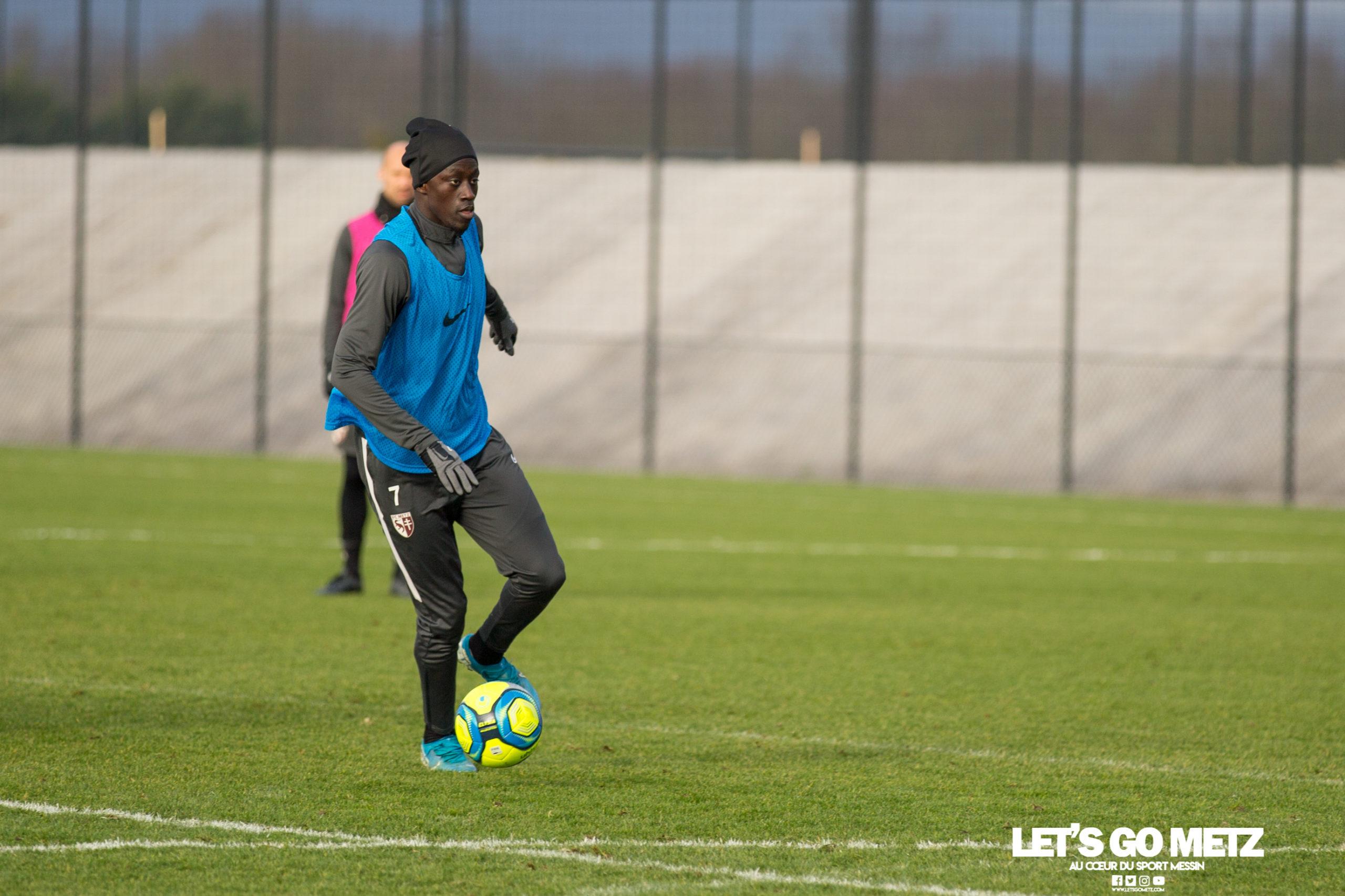 Entrainement FC Metz – 04012020 (10)Niane