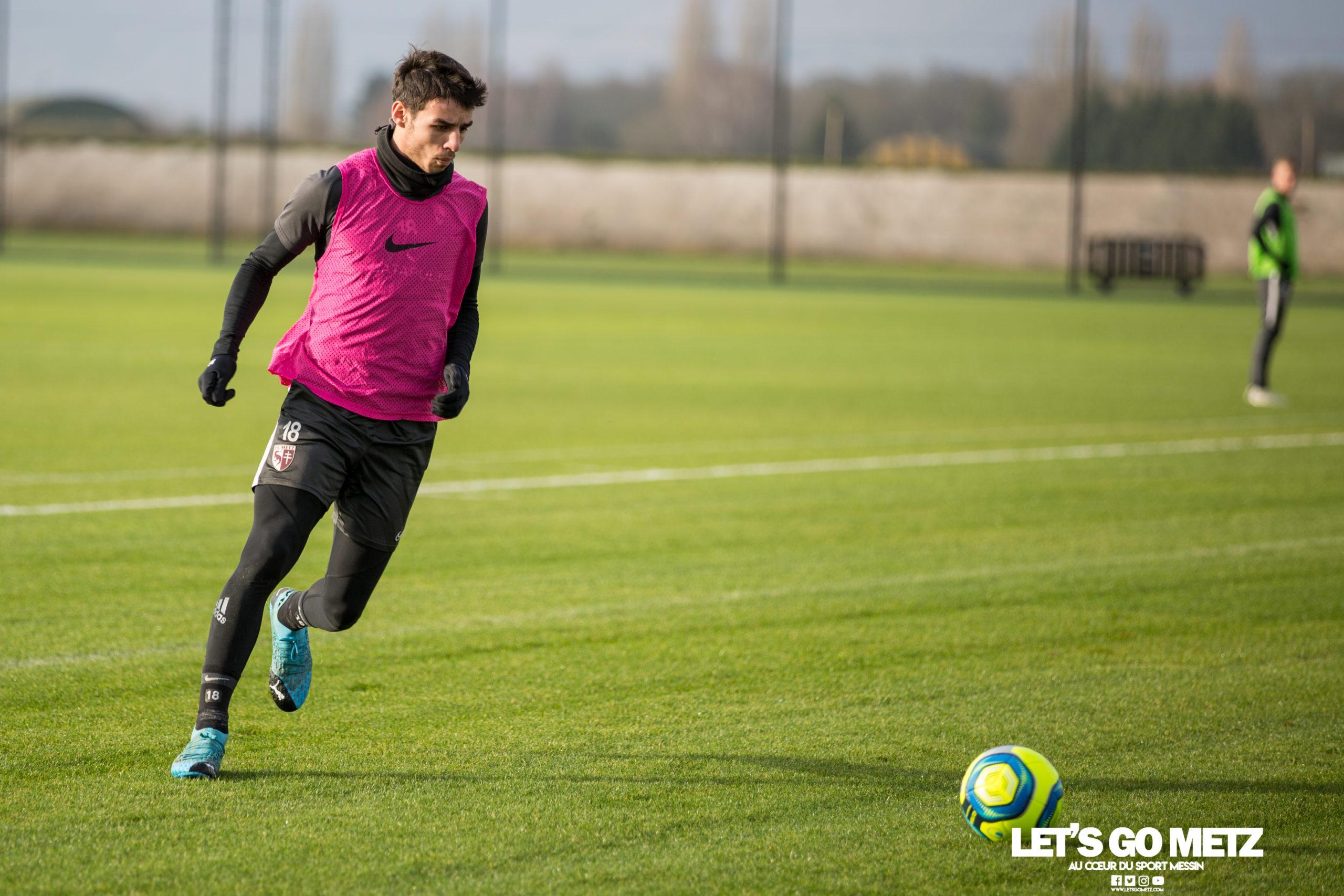 Entrainement FC Metz – 04012020 (4)Centonze