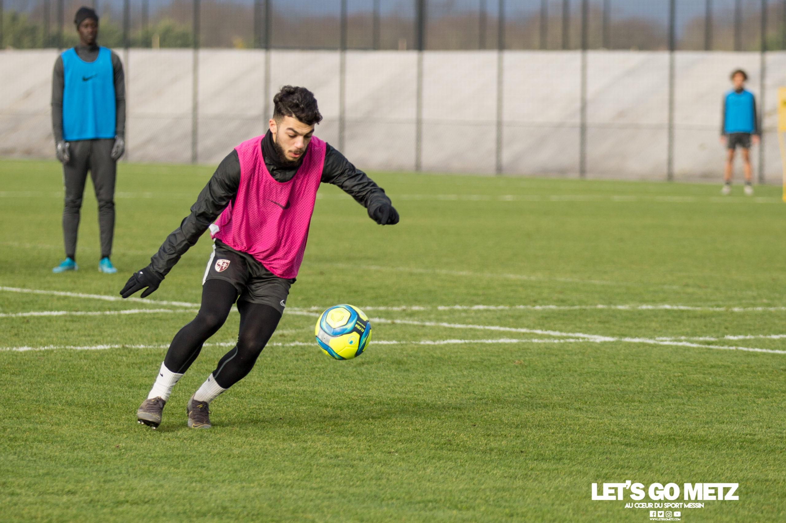 Entrainement FC Metz – 04012020 (9)Mikautadze