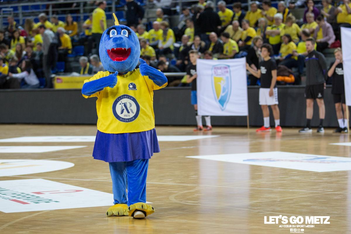 Metz Handball – Toulon St Cyr – 12012020 – Dragonette