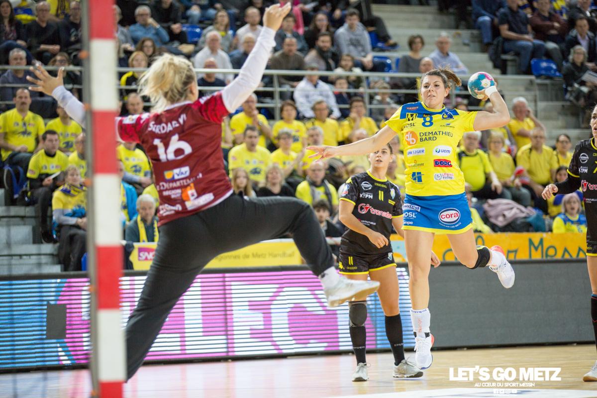 Metz Handball – Toulon St Cyr – 12012020 – Flippes