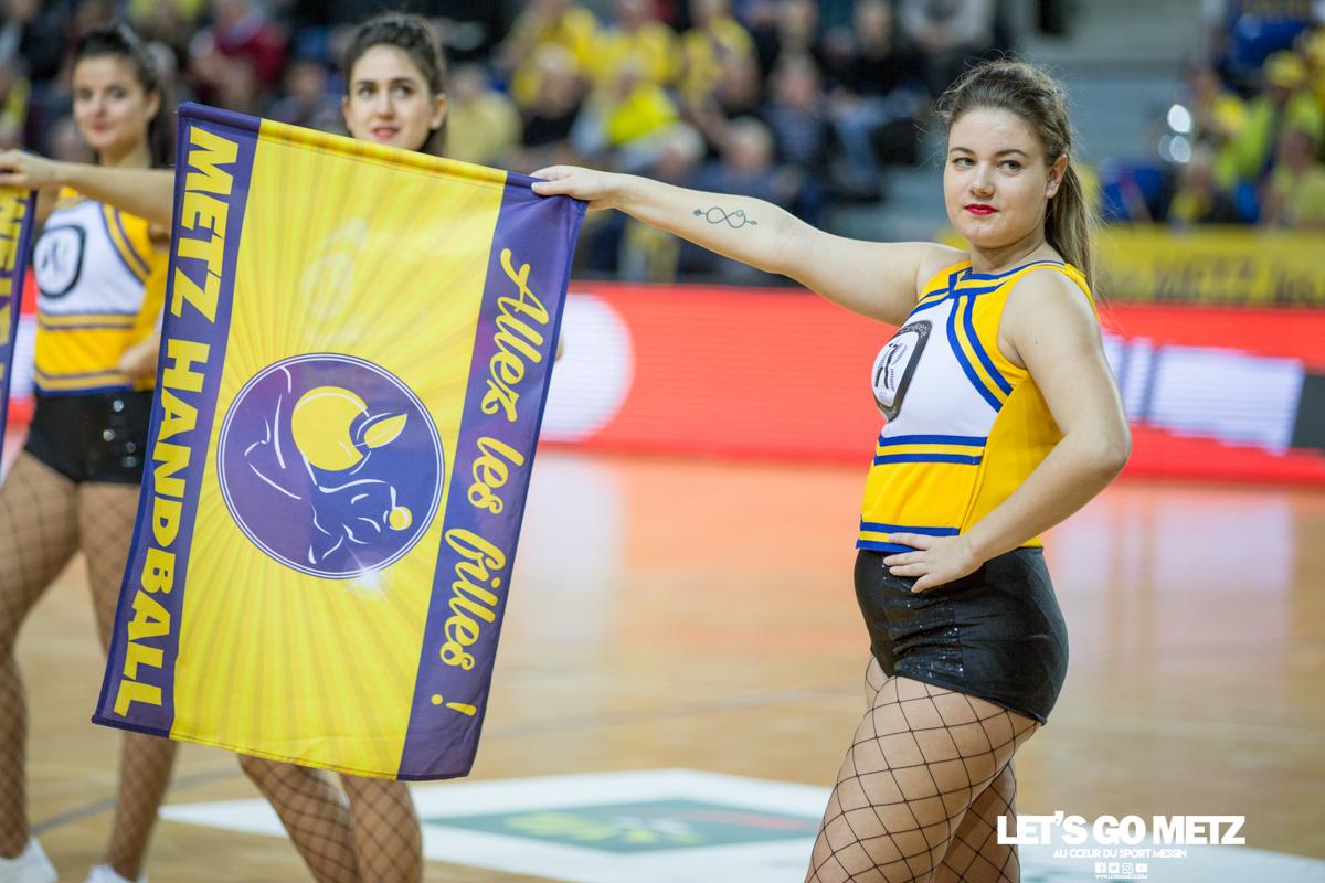Metz Handball – Toulon St Cyr – 12012020 – Sugar Girls (4)