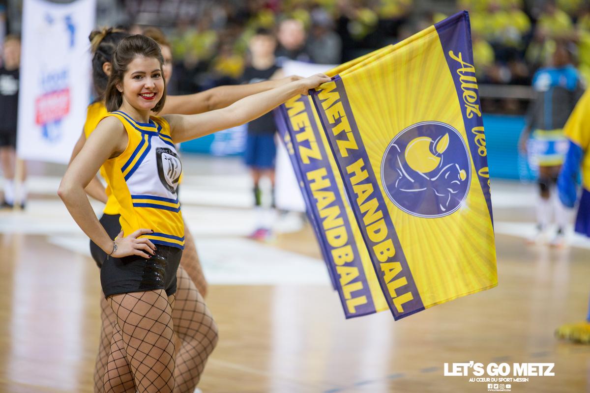 Metz Handball – Toulon St Cyr – 12012020 – Sugar Girls (5)