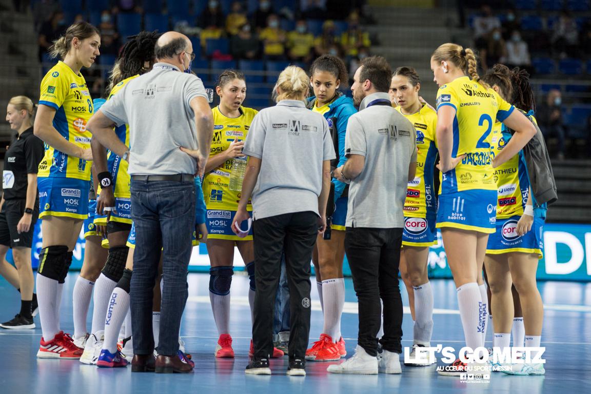Metz Handball – Esbjerg – 24102020 – Temps mort – MH