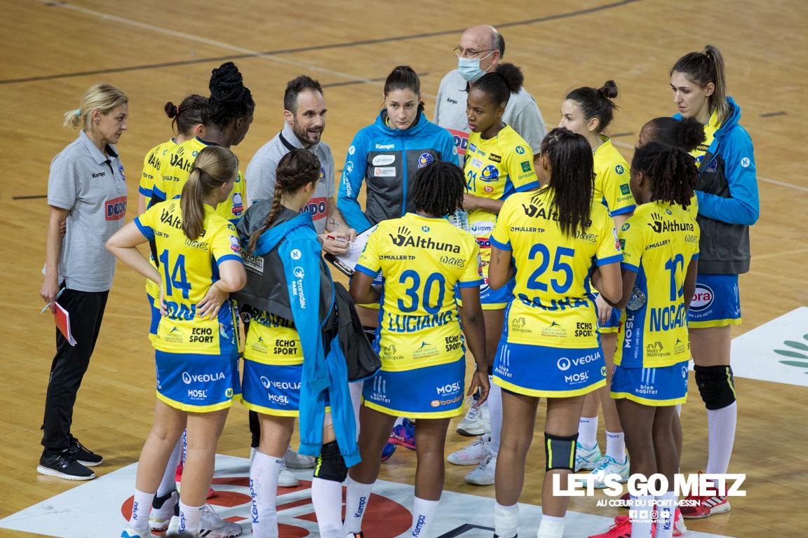 Metz Handball – Paris 92 – 11112020 – Équipe – MH (2)