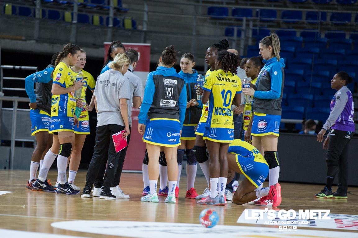 Metz Handball – Paris 92 – 11112020 – Équipe – MH