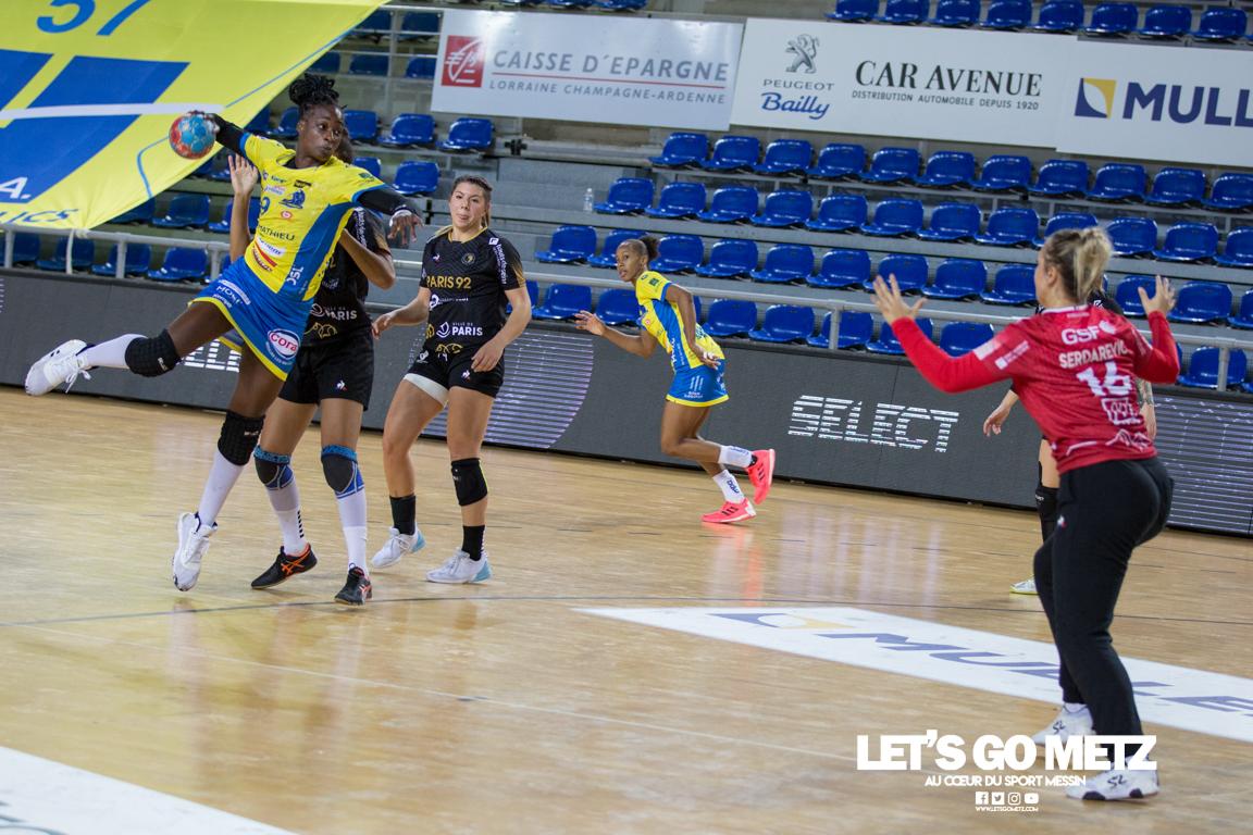Metz Handball – Paris 92 – 11112020 – N'gouan – MH