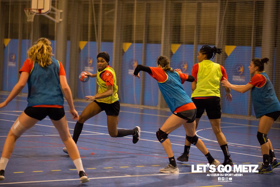Entrainement Metz HB – 07122020 – Team – MH