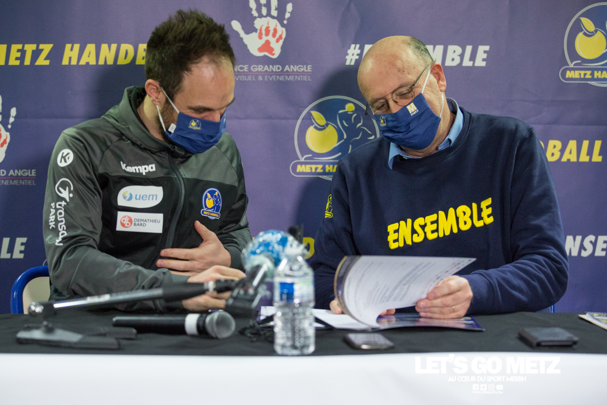 Conf de presse – Metz Handball – 08012021 – Mayonnade Weizman (3)