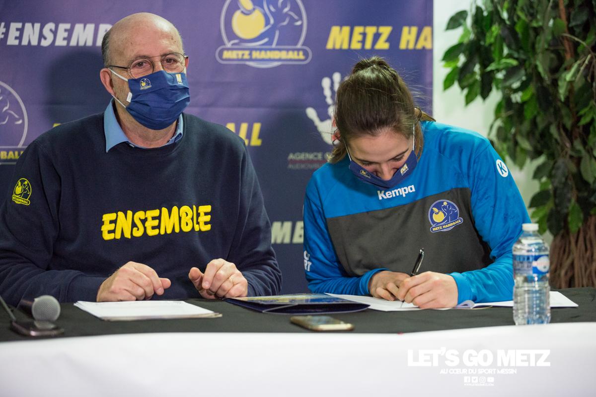Conf de presse – Metz Handball – 08012021 – Weizman Burgaard