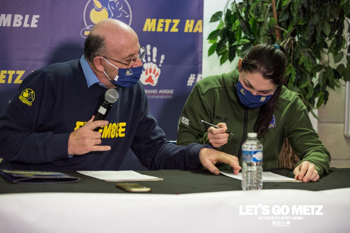 Conf de presse – Metz Handball – 08012021 – Weizman Perederiy