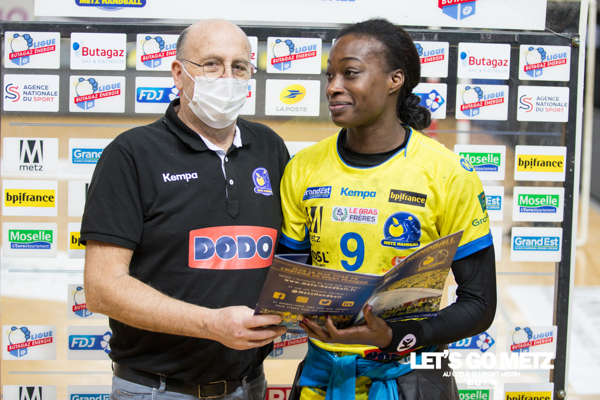 Metz Handball – Bourg de Péage – 13012021 – Signature N'Gouan – MH (2)