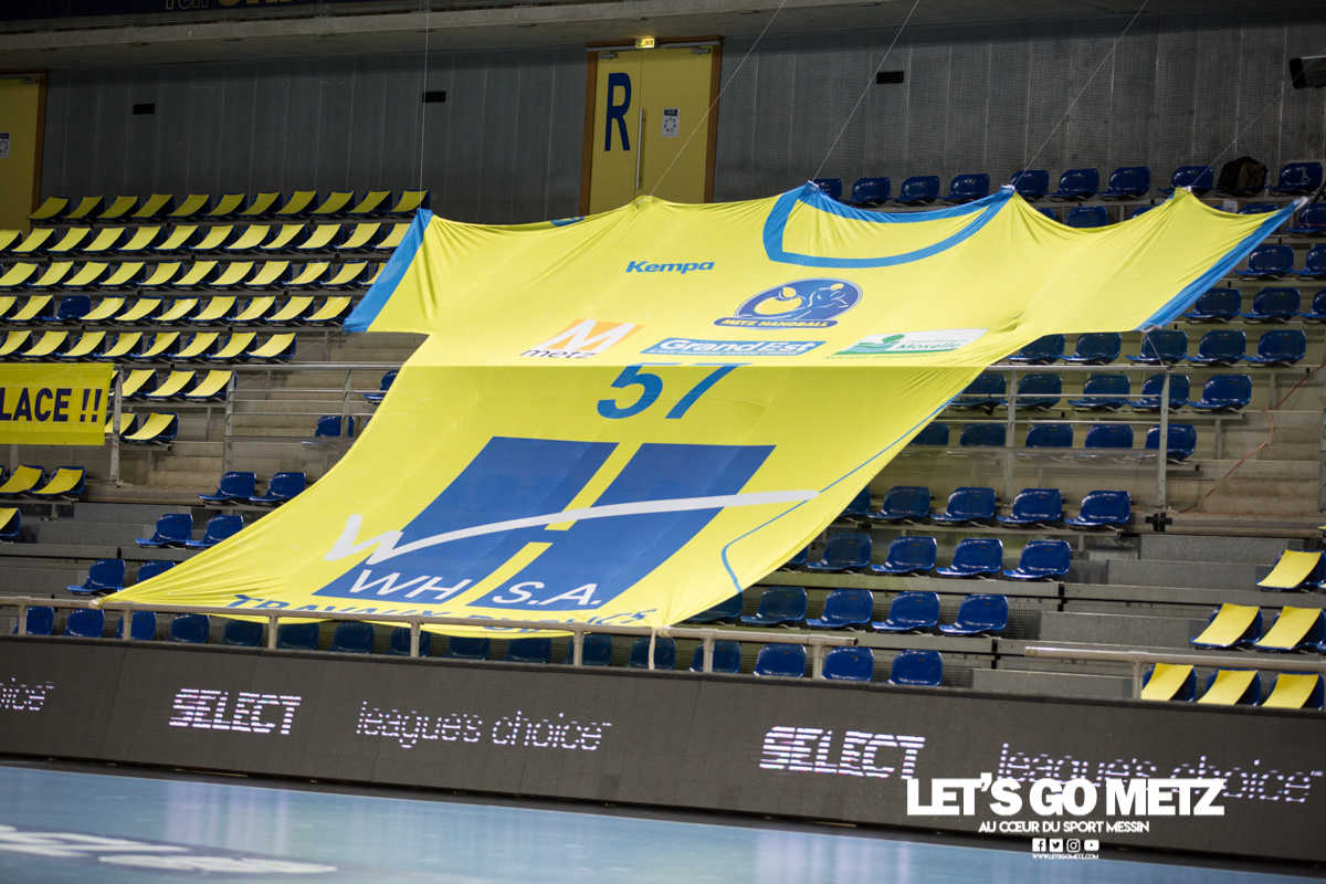 Metz Handball – Vipers Kristiansand – 03022021 – Maillot géant – MH