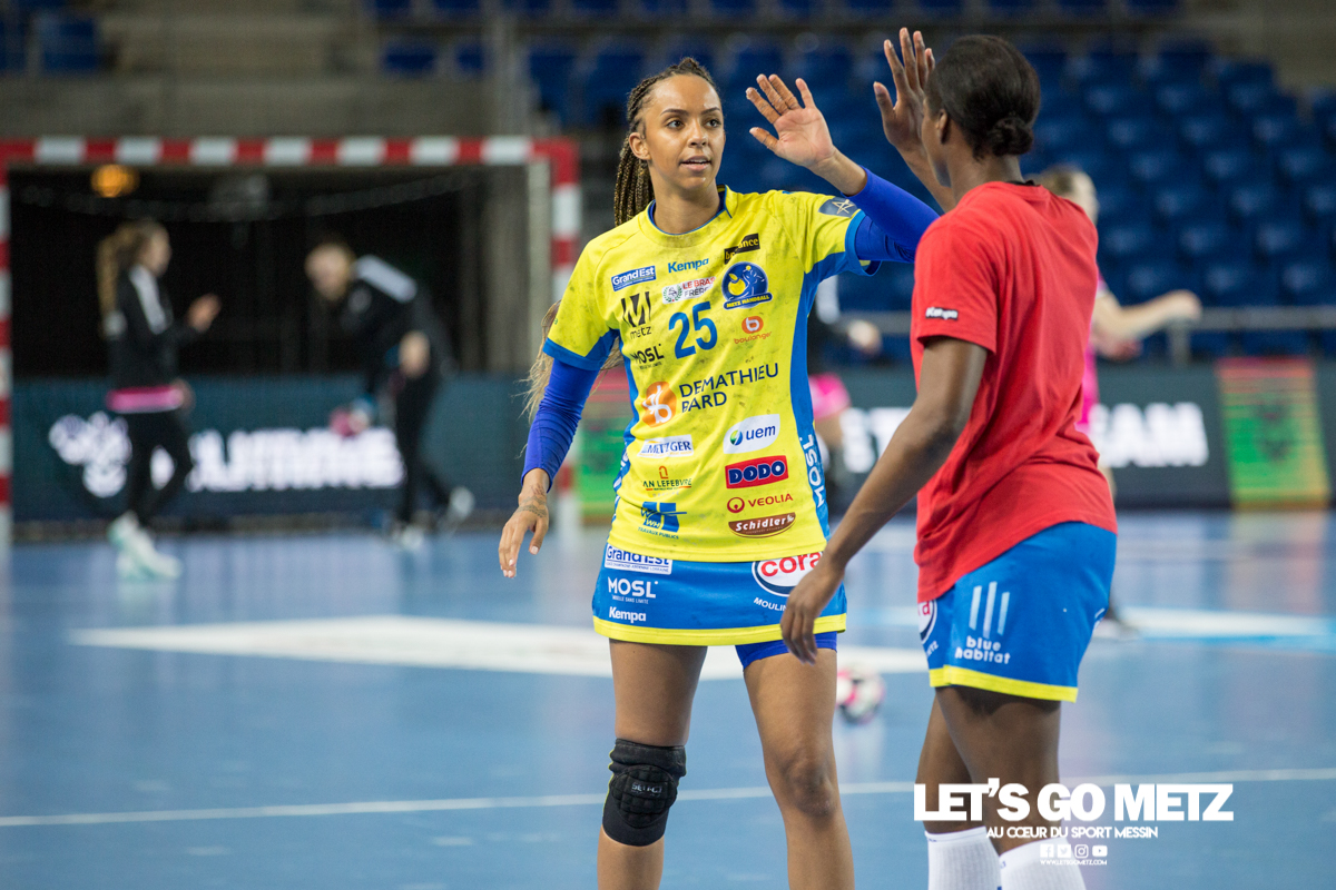 Metz Handball – Brest – 10042021 – Sajka Ngouan – MH