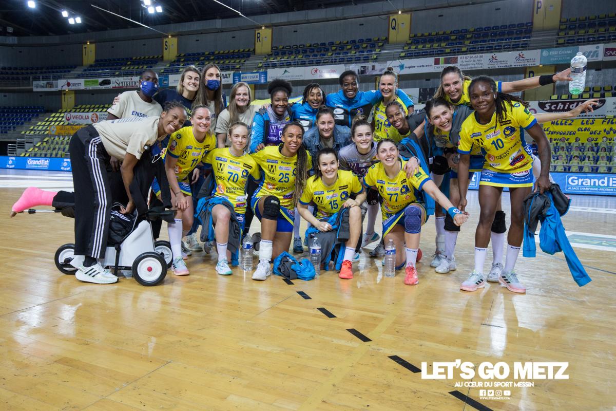 Metz Handball – Nantes – 05052021 – Équipe – MH